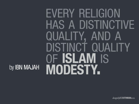Islam Is Modesty